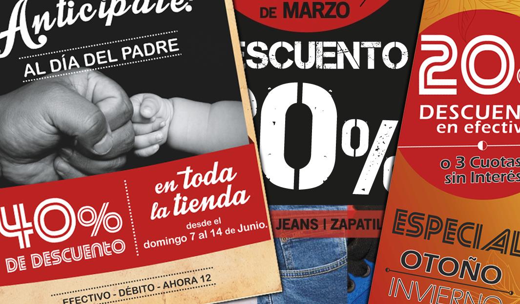 Diseño gráfico y sitio web de Lujan Jeans, en Tortuguitas, Buenos Aires